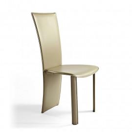 2 sedie in cuoio mod. Vento