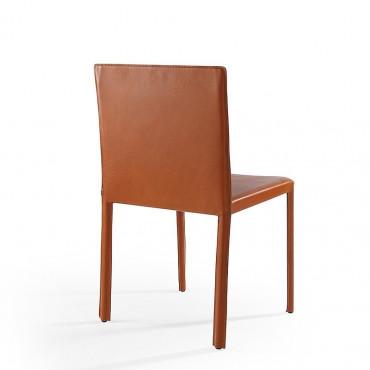 2 sedie in cuoio mod. Yuta