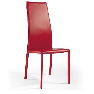 2 sedie in cuoio mod. Zoe