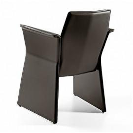 Leather armchair mod. Berry