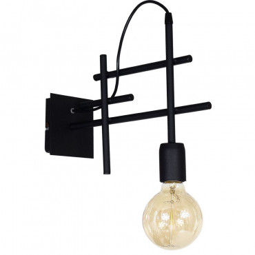Lampada Da Parete Cygnus Black