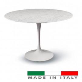 Table tulip Eero Saarinen ROTONDO Marble Carrara