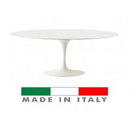 Tavolo Tulipano ovale in...