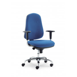 Operating office chair...