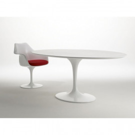 Tavolo Tulip Eero Saarinen ovale 160x85 laminato