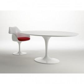 Tavolo Tulip Eero Saarinen ovale 219x121 laminato