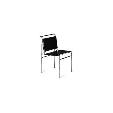 Sedia in cuoio Eillen Gray