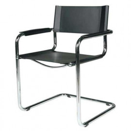 Chair with Mart Stam armrests