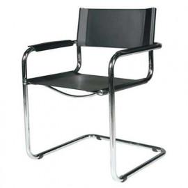 Sedia con braccioli Mart Stam