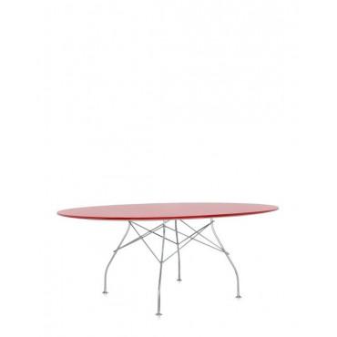 Tavolo Kartell Glossy Ovale