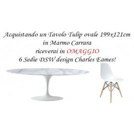 4 Sedie Tulip Design Eero Saarinen