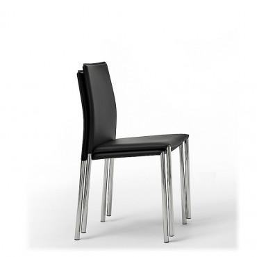 2 sedie impilabili mod. Alu