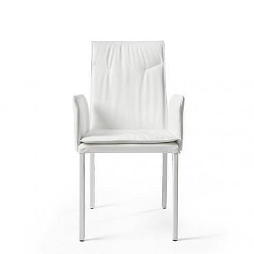 Chair with mod armrests. Ariel
