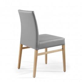 2 chairs solid beech mod. Eva