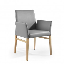 Chair with armrests solid...