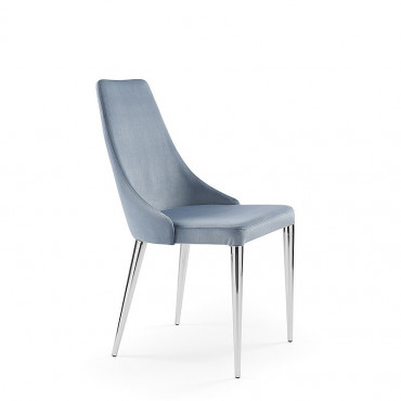 2 sedie mod. Evelin cromata