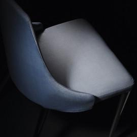 2 mod chairs. Chrome Evelin