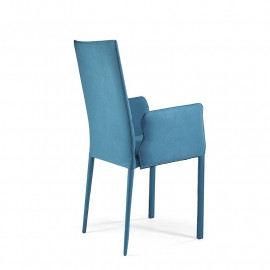 Chair with armrests high...