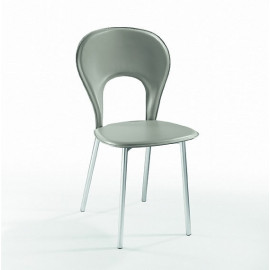 2 sedie in cuoio mod. Lama