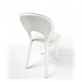 2 sedie in cuoio mod. Lancio
